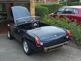 1972 MG MGB V8 Conversion