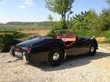 1954 Triumph TR2 Black Robin kutscher