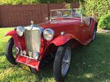 1948 MG TC Red Dan A