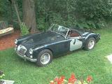 1966 MG MGB Tartan Red Wyatt W