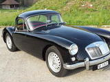 1959 MG MGA Twin Cam Coupe Black Francois Schnyder