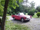 1966 Sunbeam Alpine Red John Shell
