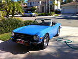 1974 Triumph TR6 French Blue Mark Flynn