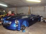 1956 MG MGA 1500 Ecosse Blue Rod Wadham