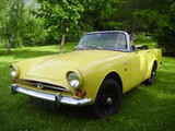 1966 Sunbeam Alpine Yellow Neil Goodall