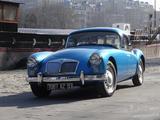 1959 MG MGA 1500 Coupe Blue Met benavente dan
