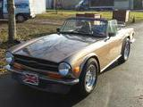 1971 Triumph TR6 Light Sand Brown Metalic Jack King