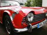 1968 Triumph TR250 Signal Red Doug Raugh