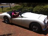1960 Triumph TR3A Pearl White Ray Morgan