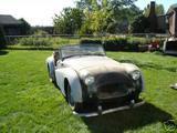 1954 Triumph TR2 Dark Green Hoyt Duff