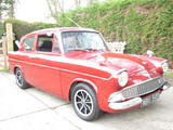 1960 Ford Anglia Red Kevin Andrews
