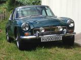 1968 MG MGC GT British Racing Green Peter Daisley Worrall