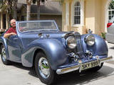 1948 Triumph 2000 Roadster Blue Jim Garey