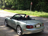 2003 Mazda MX 5 Silver Blue Thierry Costa