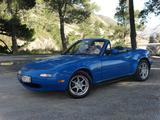 1991 Mazda MX 5 Blue Morgan Williams