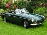 1972 MG MGB Green Mallard Enrique Basanez Trevethan