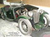 1934 MG P Type Midget Grease And Some Rust And Some Gordon Clark