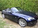 2010 Mazda MX 5 Blue Daniel Maury Lasmartres
