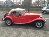 1953 MG TD RED Pieter Deenik