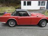 1962 Triumph TR4 Signal Red Olav Gjessing