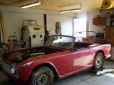 1961 Triumph TR4 Signal Red reinoud de kort