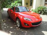 2011 Mazda MX 5 Red Billy Bilyard