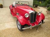1952 MG TD Red Rich Hartill