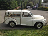 1959 Morris Minor Traveller WHITE Chris T