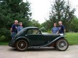 1936 MG P Type Midget