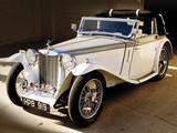 1938 MG TA Tickford