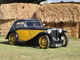 1936 MG TA Black Gold Col Schiller