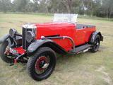 1929 MG 18 80 Red Col Schiller