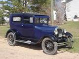 1928 Ford Model A Blue Ian Simpson