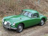 1958 MG MGA 1500 Coupe Green Jean Luc Bernard
