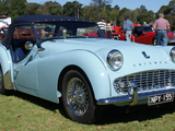 1960 Triumph TR3A Powder Blue Rob Bradford
