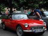 1963 MG MGB MkI Tartan Red Mariusz Slyk