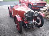 1933 MG J Type Midget Red Dan Lanier