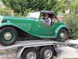 1953 MG TD Woodland Green Laurent RIVIERE