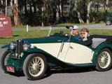 1934 MG N Type Magnette Green Cream Andrew F
