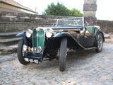 1945 MG TC Black Alberto Cruz