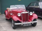 1951 MG TD Red Jaap Jan Van Der Weel