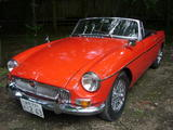 1966 MG MGB Flame Red Keiichi Kakei