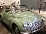 1958 Morris Minor Tourer Convertible