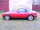 1990 Mazda MX 5 Red Michael Hansson