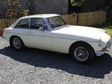 1966 MG MGB GT White Kevin G