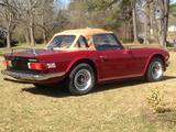 1976 Triumph TR6 Carmine Red Will Sanders
