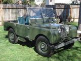 1951 Land Rover Series I Bronze Green Steve Beres