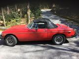 1980 MG MGB MkIV Red Donald Thompson