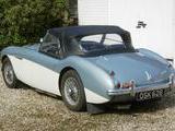 1954 Austin Healey 100 Healey Blue Over White Gary Pitcher