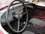 1955 Austin Healey 100 Red Dan Marshall